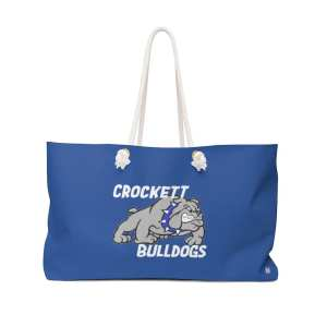 Crockett Bulldogs Weekender Bag