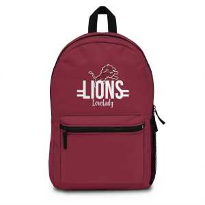 Lovelady Lions Backpack (Made in USA) v2