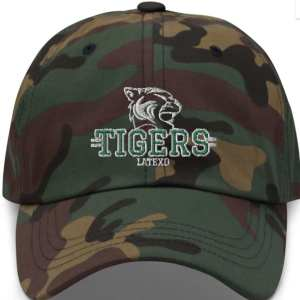 Latexo Tigers Camo Dad hat