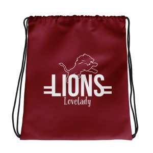 Lovelady Lions Drawstring bag
