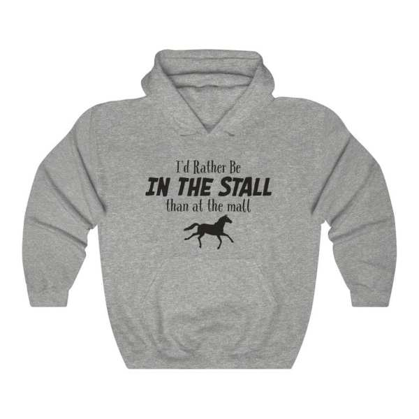 In the stall hoodie