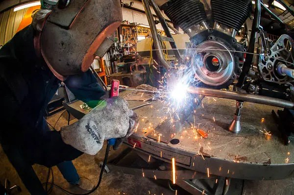 Many of Tommy's creations are hand fabricated and welded in his own well equipped shop.
