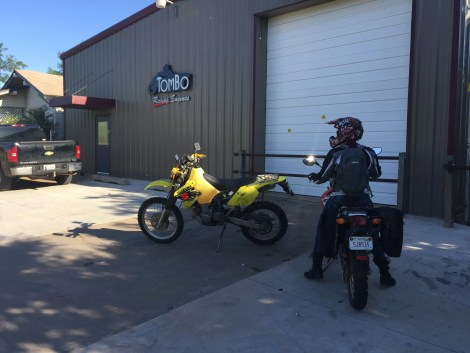 My daughter Emily and I stopped at Tombo Racing on our trip around the Grand Boulevard Loop.