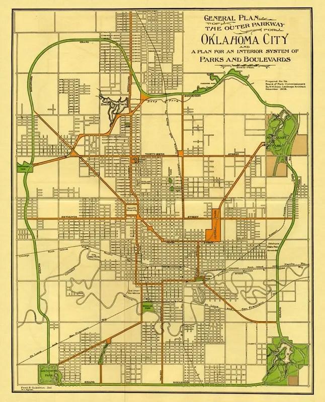 OKC - Grand Boulevard Loop - Ride Oklahoma