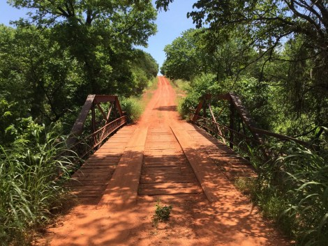 This bridge awaits you before you get to Stillwater.