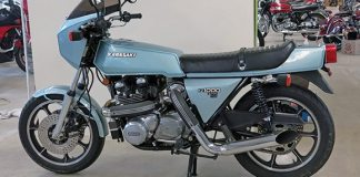 Kawasaki KZ1000 Z1-R TC (Turbocharged): 1978-1979