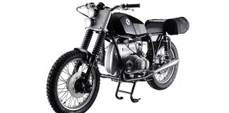 This custom 1975 BMW R75/6 will be included in the demo truck display. The bike will be raffled off, with the winner announced at the Mama Tried Motorcycle Show in April 2017.