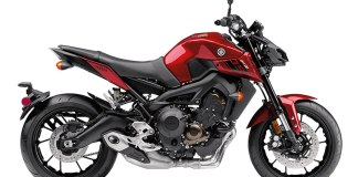 2017 Yamaha FZ-09 in Candy Red