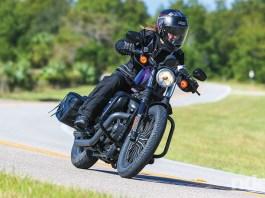 Bridgestone Battlecruise H50 tires on a Harley-Davidson Sportster. Photo by Brian J. Nelson.