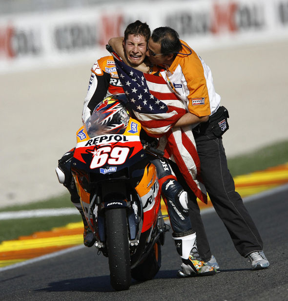Motorcycle racer Nicky Hayden dies from injuries sustained in bicycle crash