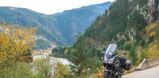 British Columbia motorcycle ride