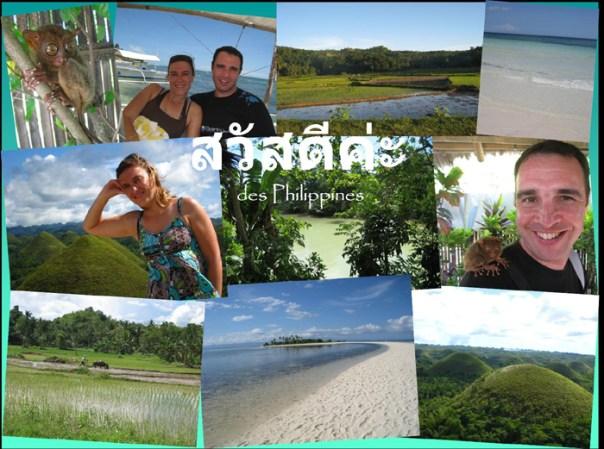 Claire et Ghis aux Philippines