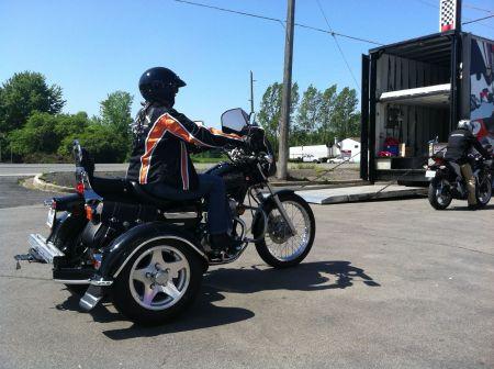 motorcycle dealership demo ride