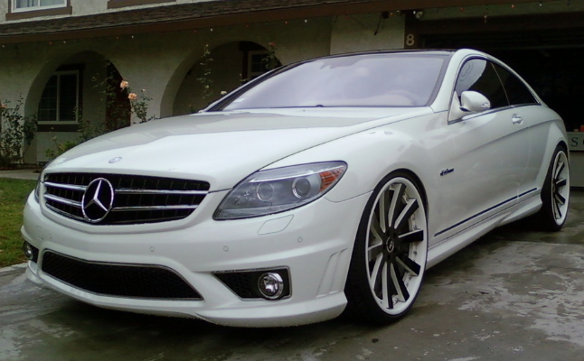 cars rides mercedes-benz cl63 amg clean