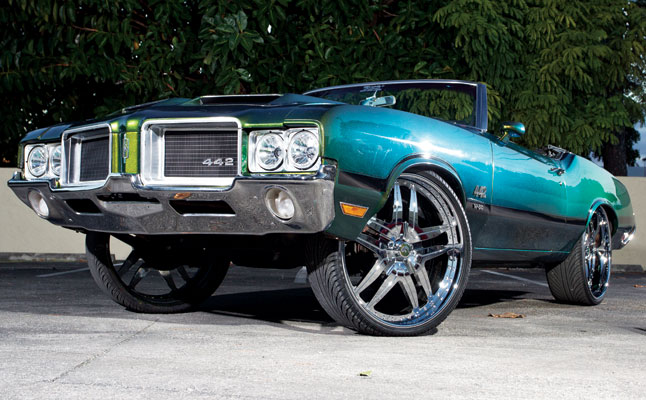 rides cars 1971 olds cutty 442 oldsmobile cutlass donk