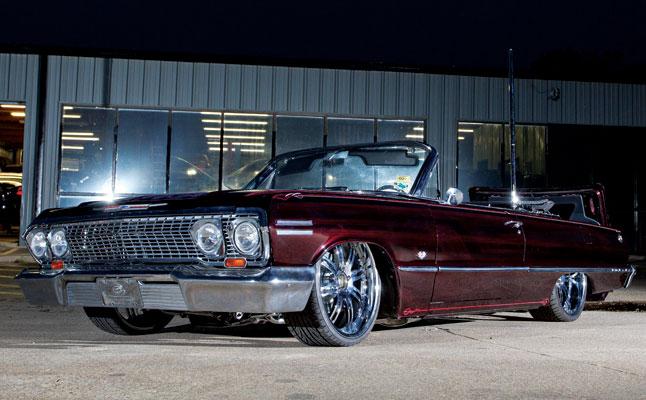 rides cars chevy 1963-chevrolet-impala-convertible-texas