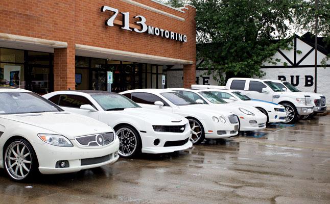 rides cars 713 motoring texas