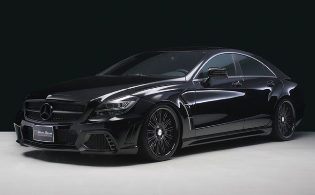 rides cars wald international mercedes-benz cls63 amg black bison