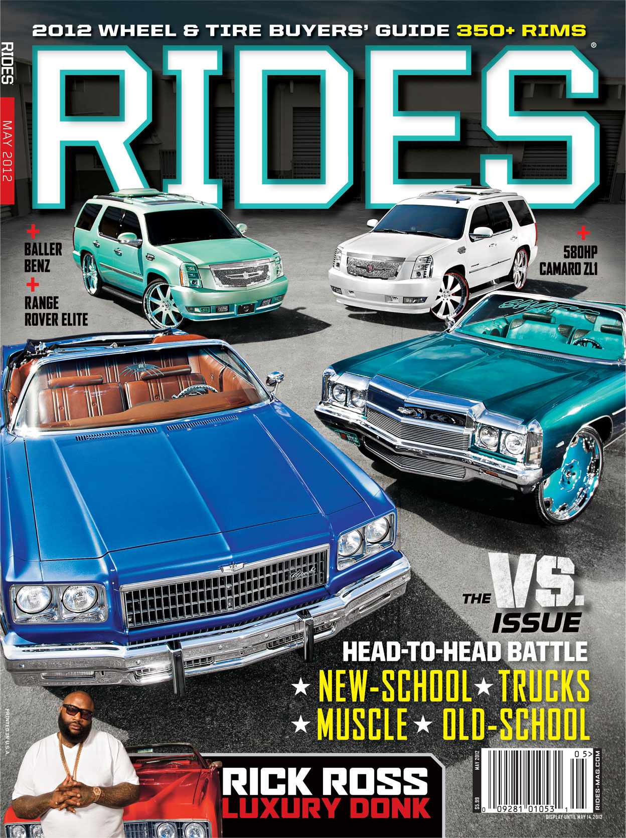 rides cars may 2012 issue