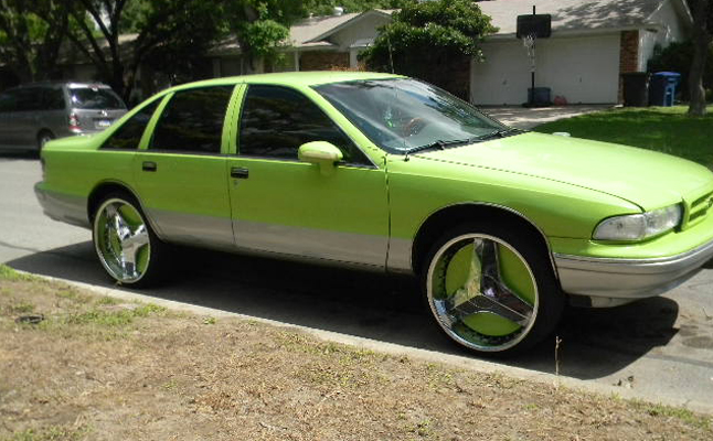 Chevrolet, Chevy, Caprice, Rides, Custom, Bubble