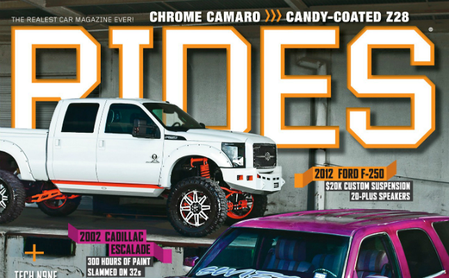 rides cars october november 2012 cover