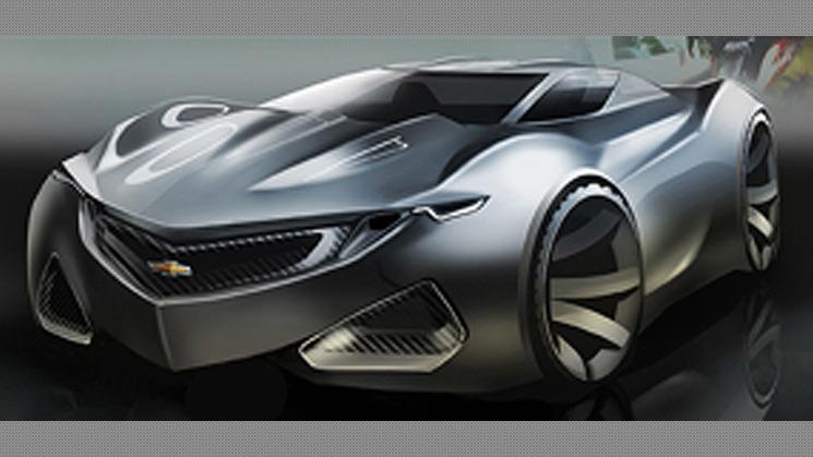 rides cars 2015 chevrolet chevy camaro maro concept drawing illustration okhman arkadiy