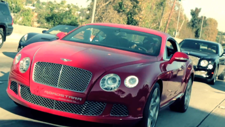 rides bentley continental w12 ferrari california chief keef sosa soulja boy foreign cars