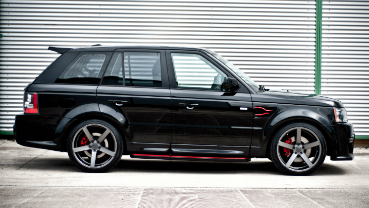 2012 Land Rover Range Rover Sport on Matte-Graphite Vossen VVSCV3 Rims amari design super cars supercars windsor edition bodykit