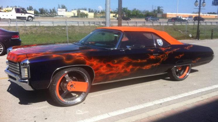 1971 Chevrolet Burnin On Forgiato Parlaro Rims Rides