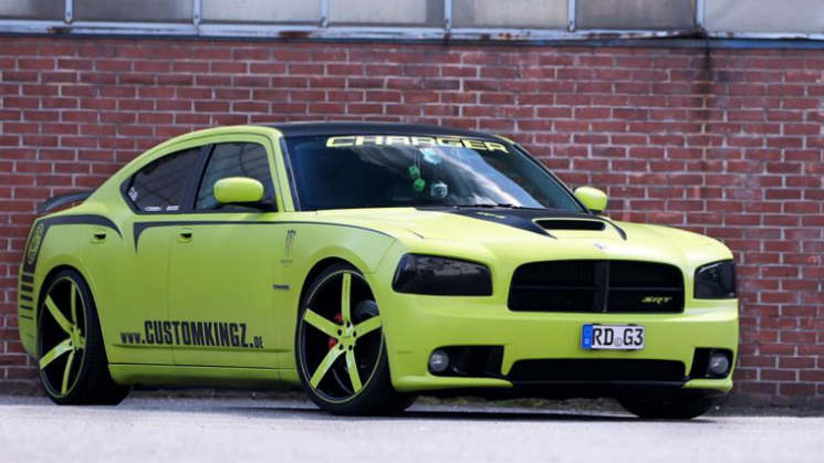 dodge charger srt-8 superbee rides