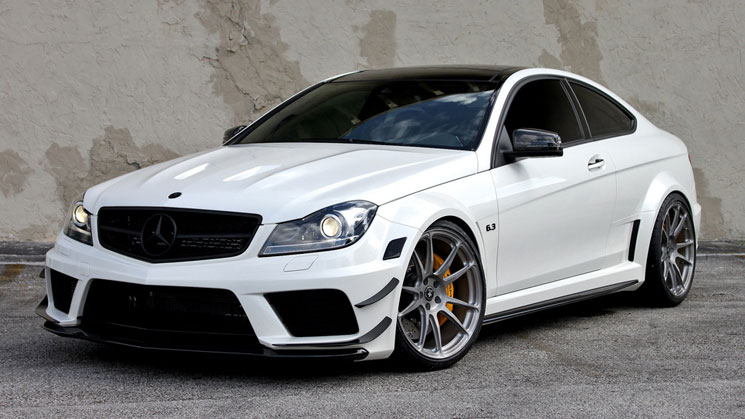 rides c63 amg black series hre p44sc rims mercedes-benz