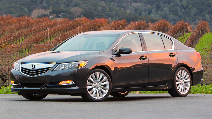 rides 2014 acura rlx advance honda accord