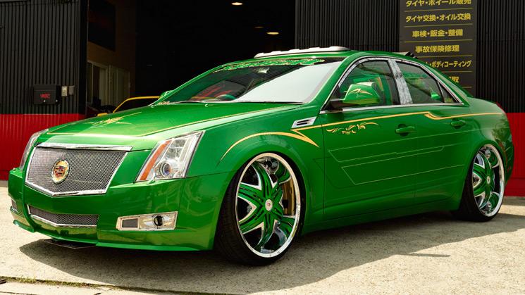 RIDES, Japan, Cadillac, CTS