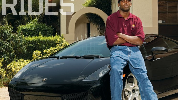 rides magazine randy moss chevrolet chevy avalanche lamborghini gallardo throwback thursday tbt