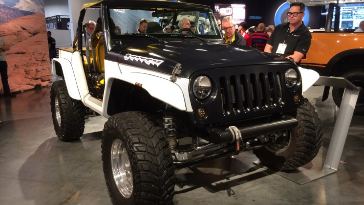 rides sema 2013 mopar jeep wrangler stitch