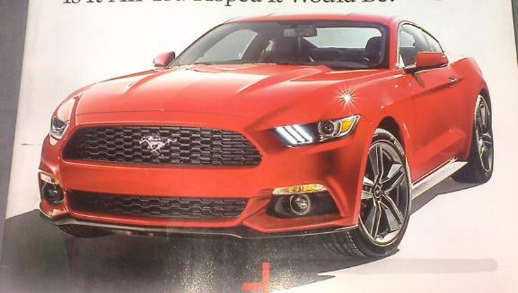 rides 2015 ford mustang revealed autoweek