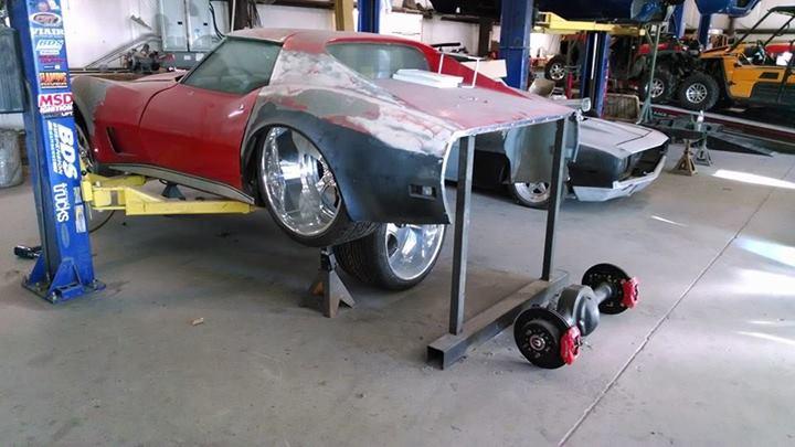 tubbed c3 corvette