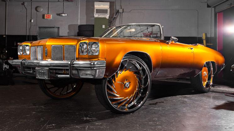 rides magazine 1975 oldsmobile delta 88 asanti wheels house of kolor kandy paint