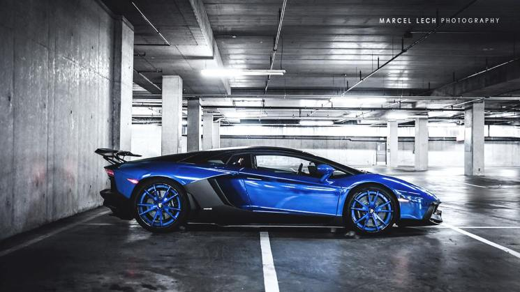snakeskin wrap lamborghini aventador forgiato rides magazine goldrush rally liberty walk lb performance marcel lech photography chrome blue
