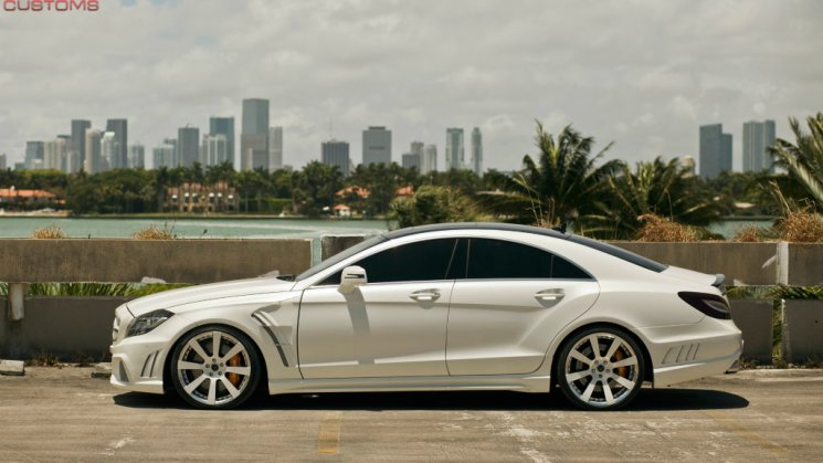 MC Customs Savini Wheels x Wald Mercedes Benz CLS63 17