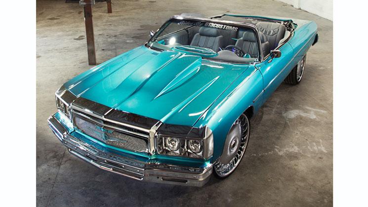 813 customs florida donk chevy chevrolet caprice DUB MHT spinners rides magazine custom old school