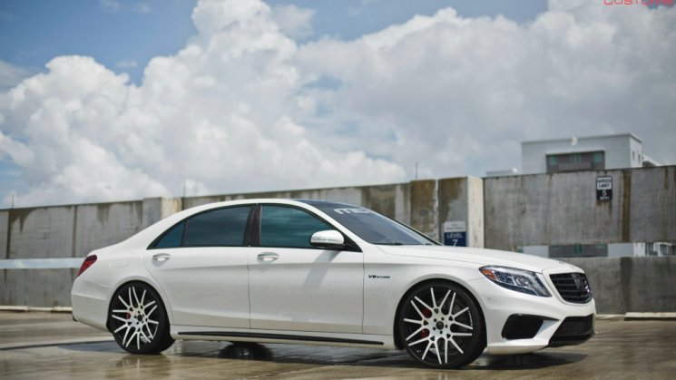 MC Customs | Francisco Liriano's Forgiato Wheels x Mercedes Benz S63 06R
