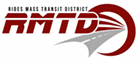 Rides Mass Transit District - RMTD logo, color
