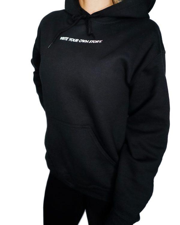 RT hoodie svart studio