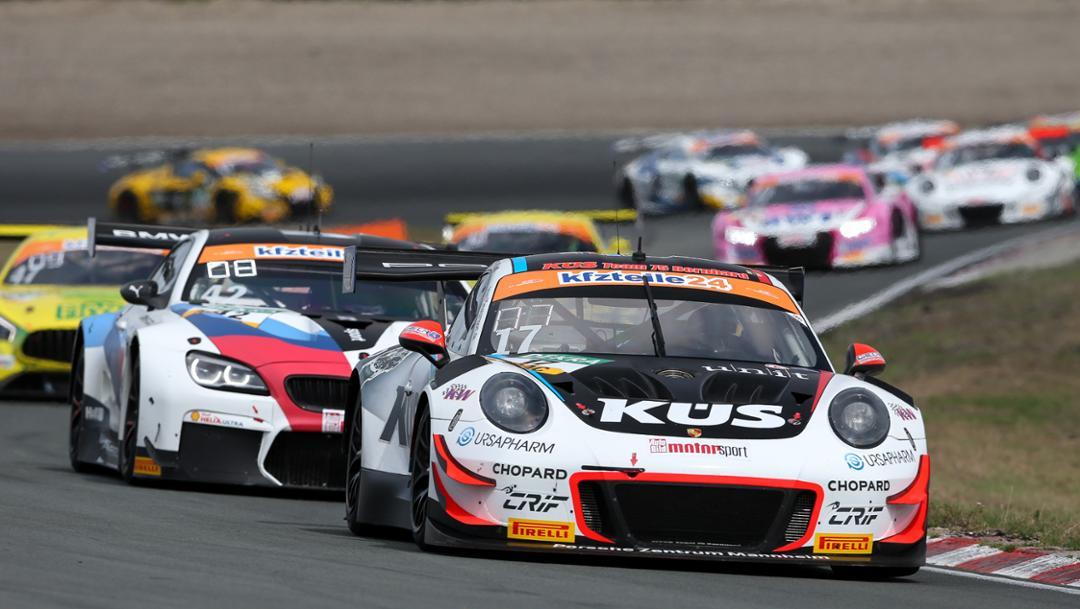 ADAC GT Masters, competition 9, Zandvoort, 2018, Porsche AG
