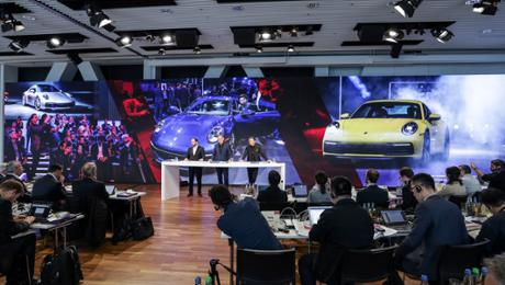 A clever 2018 financial year for Porsche