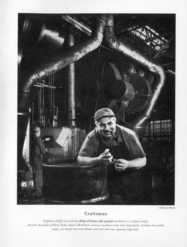 Emric (Jimmy) Saska 1951 Set-up Man, Plant 2, Valve Dept. 39