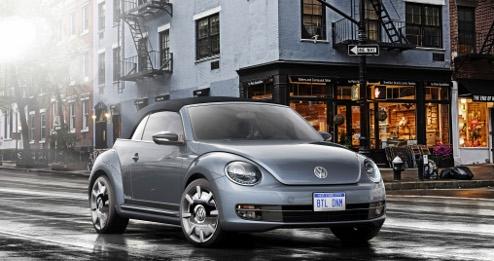 Volkswagen Studie Beetle Cabriolet Denim