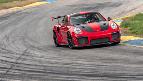 911 GT2 RS sets prolongation automobile path record during Road Atlanta