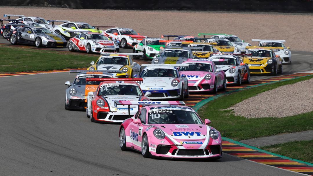 911 GT3 Cup, Porsche Carrera Cup Deutschland, competition 11, Sachsenring, 2018, Porsche AG